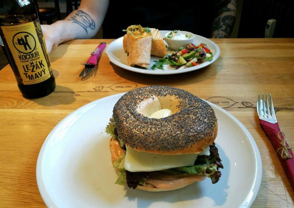 vegan restaurants in Prague