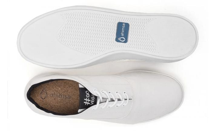 White Ahimsa Sneaker
