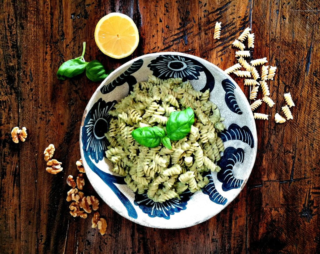 Vegan Avocado Pesto