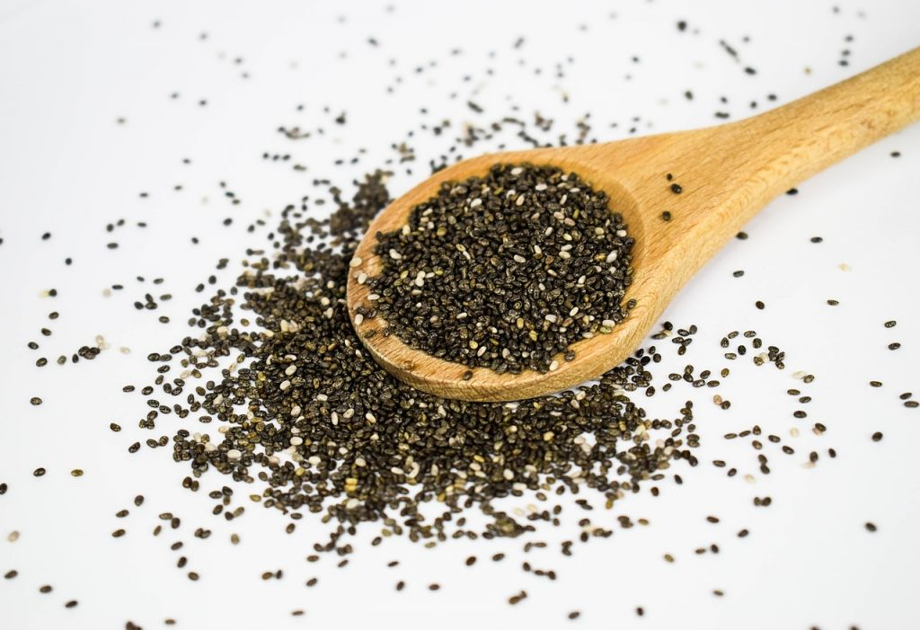 Chia Seeds instead of xanthan gum