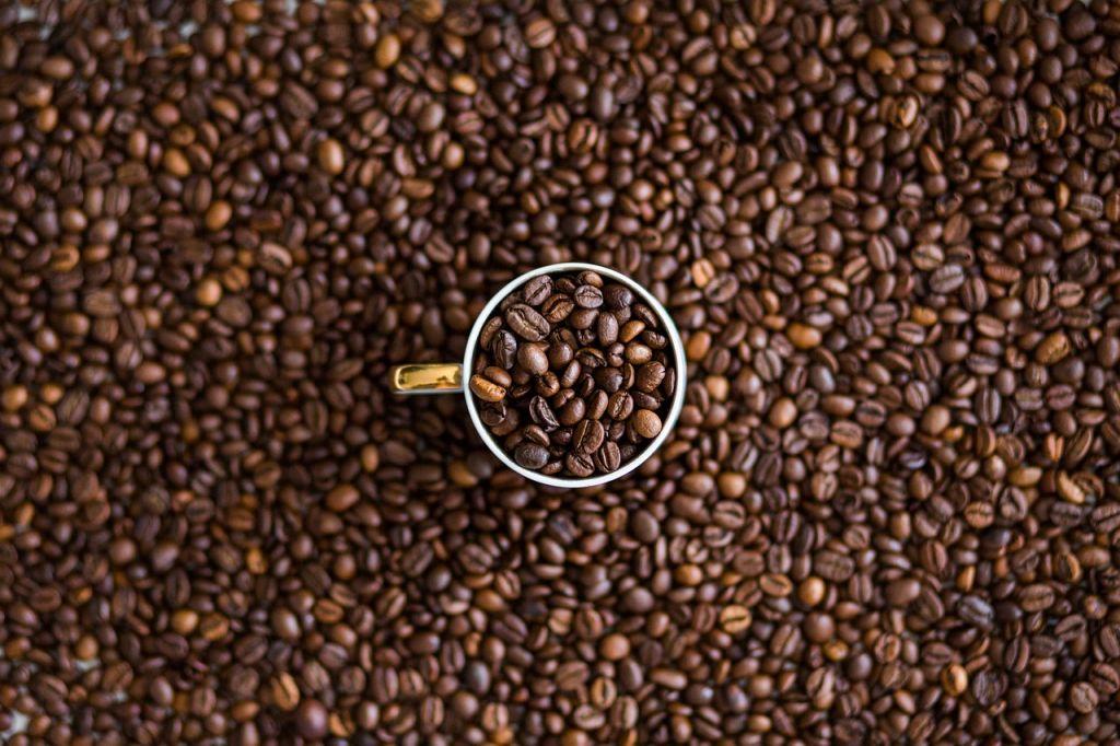 dairy free Starbucks drinks - coffee beans