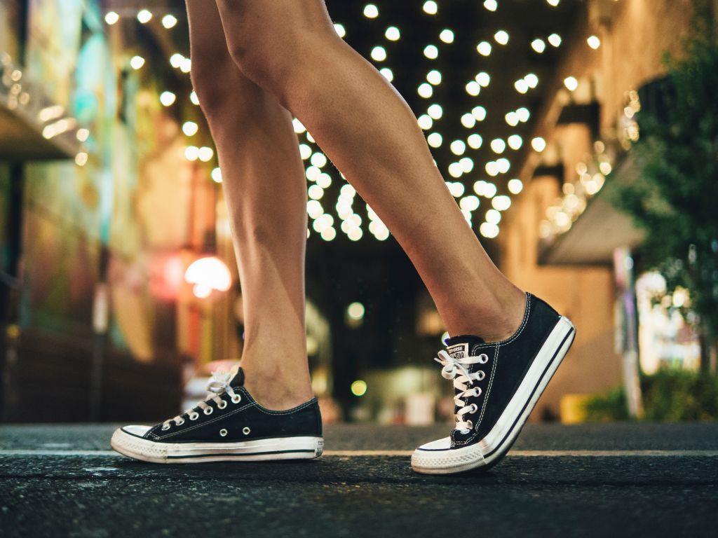 vegan Converse shoes