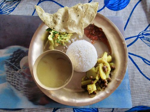 Vegan Dal Bhat