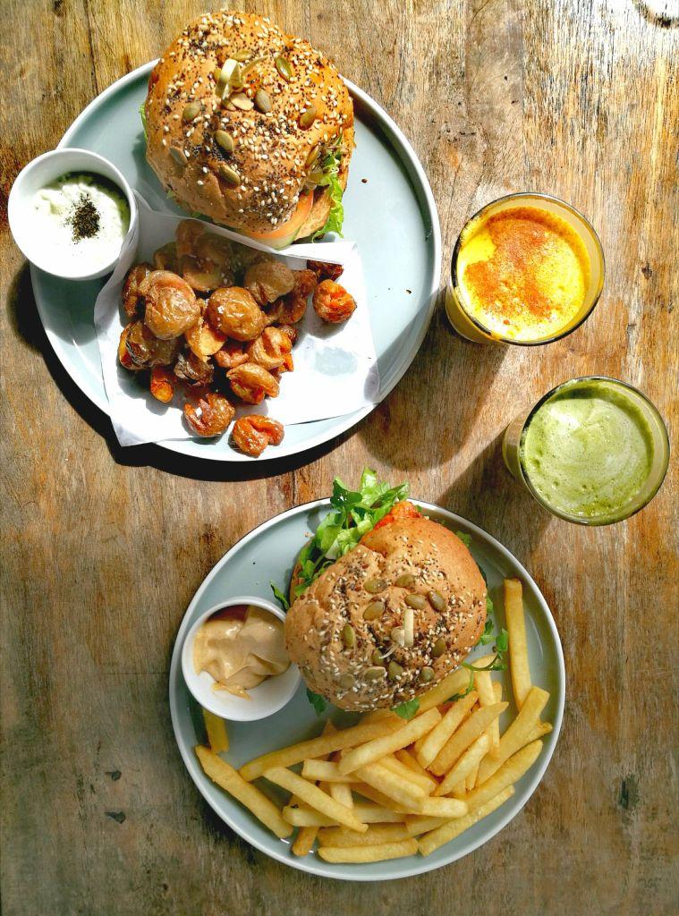 Vegan food in Canggu
