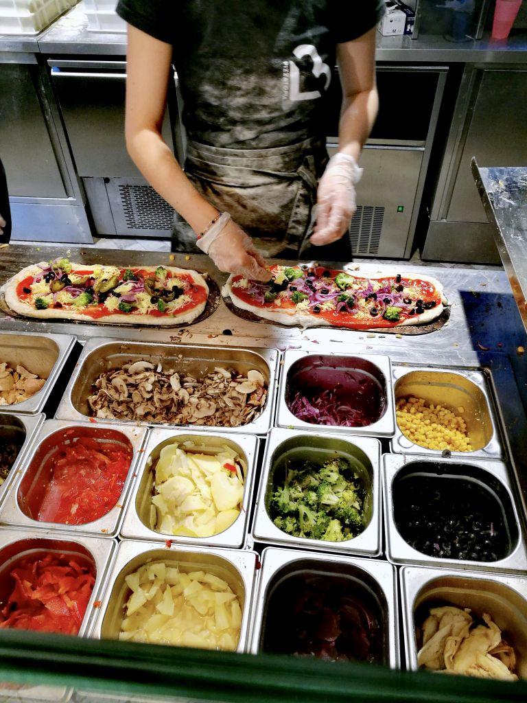 Vegan Restaurant in Krakow Making Pizza