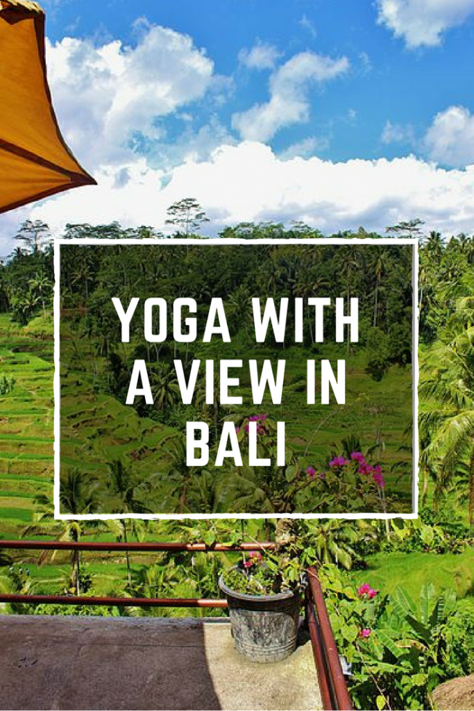 Pin for yoga in Ubud