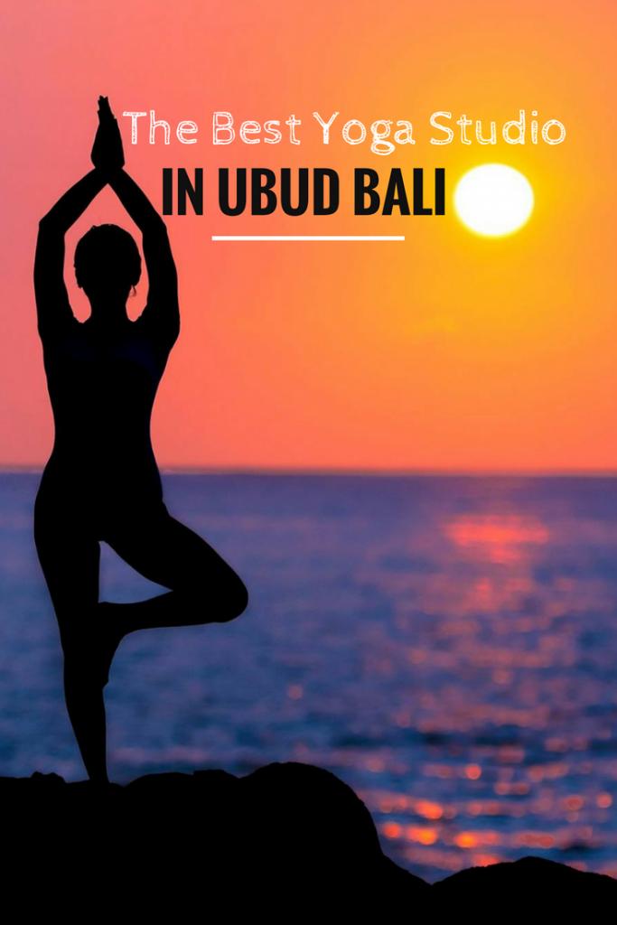 Pin for the best yoga studio in Ubud, Bali