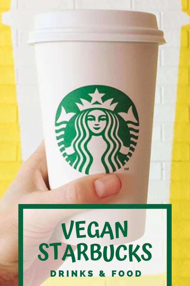 Vegan Starbucks pin it button