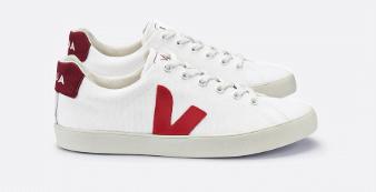 White Vegan Sneakers from VEJA