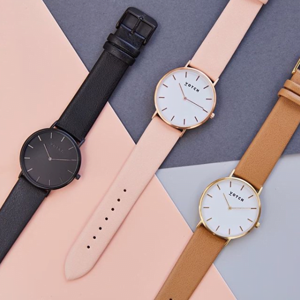 Three watches from Votch
