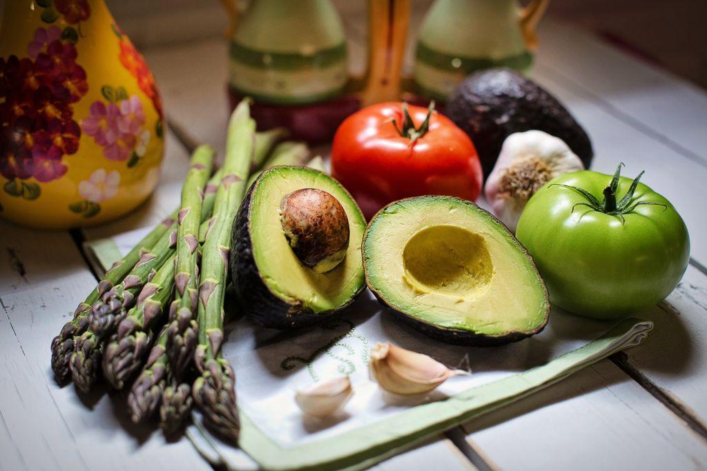 Vegan Vegetables on a Plate