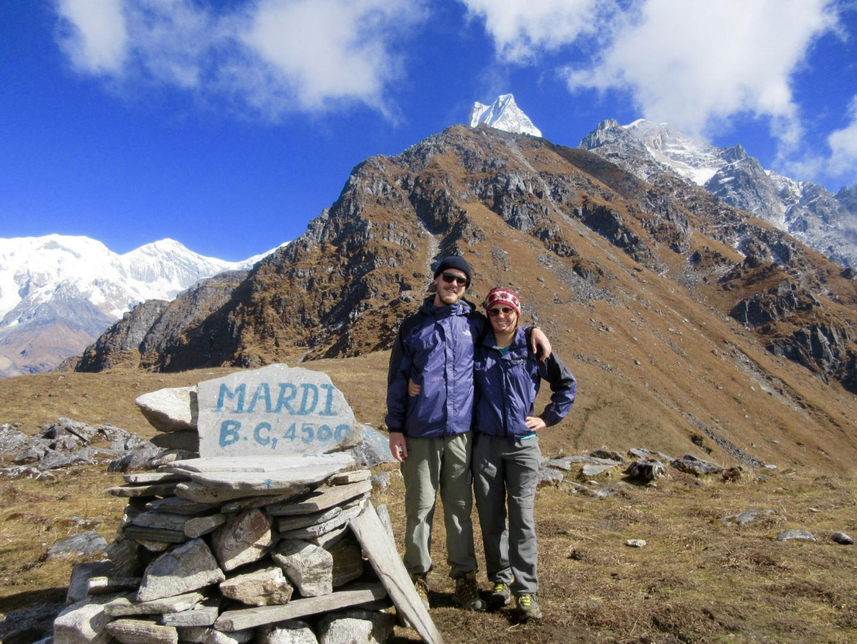 Mardi Himal Base Camp